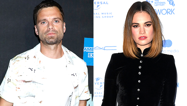 Sebastian Stan & Lily James: See First Pics Of Them As Tommy Lee & Pamela Anderson For New Series