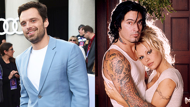 Sebastian Stan Looks Just Like Tommy Lee As He Goes Shirtless On' Pam & Tommy' Set — See Pic thumbnail