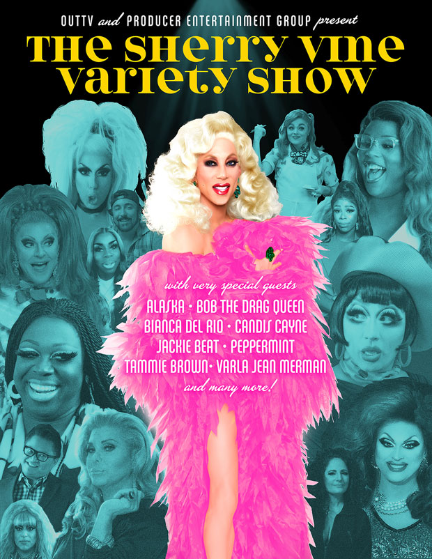 The Sherry Vine Variety Show peg