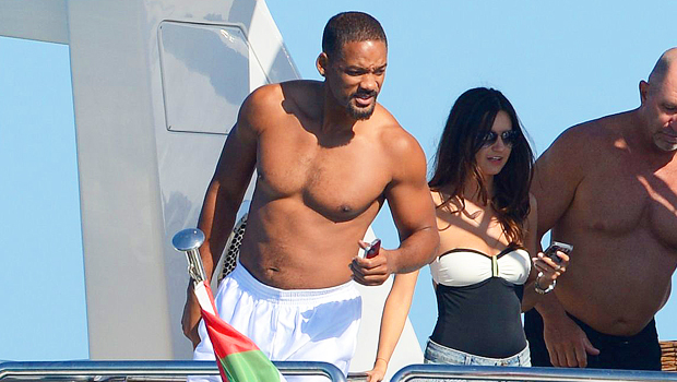Will Smith Vows To Get In The 'Best Shape' Of His Life & Posts New Shirtless Photo After Weight Gain
