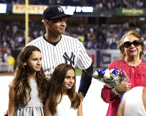Alex Rodriguez et filles