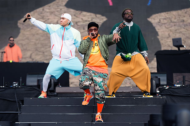 black eyed peas ready to jump on stage shutterstock embed
