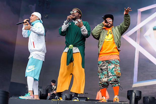 black eyed peas ready to jump on stage shutterstock embed2