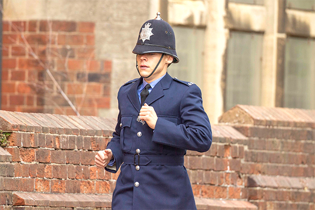 Harry Styles cop