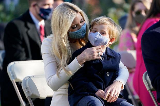 Ivanka Trump and son Theo