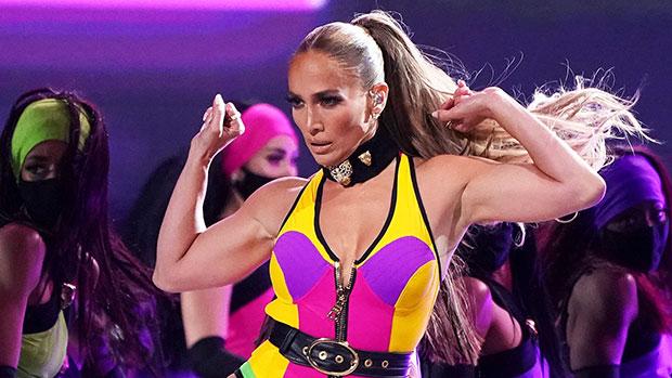 Jennifer Lopez Shows Some Serious Leg In High-Cut Red Dress As She Dances Around Set.jpg