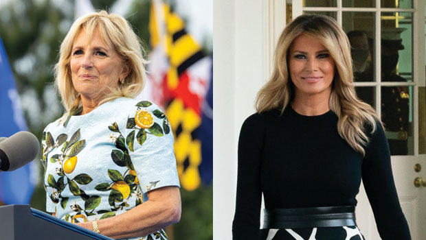 Jill Biden Shows Support For Melania Trump After Posting A Photo Of Her Rose Garden – See Pic.jpg