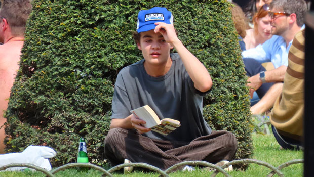 Johnny Depp's Lookalike Son Jack, 19, Relaxes With A Beer In Rare Paris Sighting — See Pics.jpg
