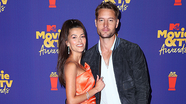 Justin Hartley & Sofia Pernas Fuel Marriage Speculation With Ring At MTV Movie & TV Awards