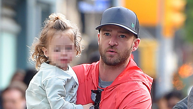 Justin Timberlake & Son Silas, 6, Show Off Their Jedi Skills With Light Sabers At Disney World: Watch