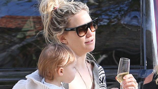Kate Hudson & Mini-Me Daughter Rani Rose, 2, Are So Cute Twinning In Sunglasses – Pic