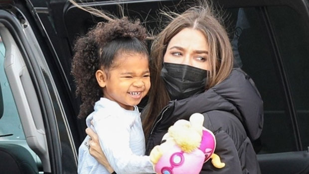 Khloe Kardashian & Daughter True, 3, Are 'Dior Darlings' In $5K Matching Outfits From Psalm's 2nd Birthday