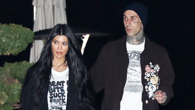 Why Kourtney Kardashian & Travis Barker Are Flaunting Their Romance In A Very 'Public Way'