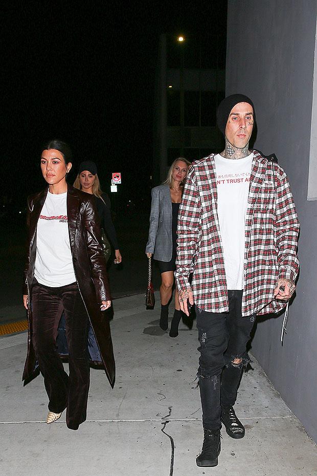 Kourtney Kardashian Travis Barker Getting Married