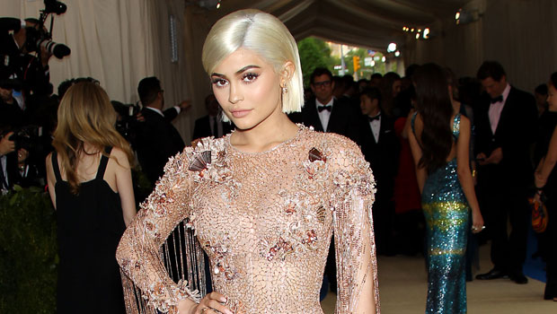 Kylie Jenner Stuns In Beige Satin Bikini As She Says Her 'Vibe' Is 'Living Life' — See Pics