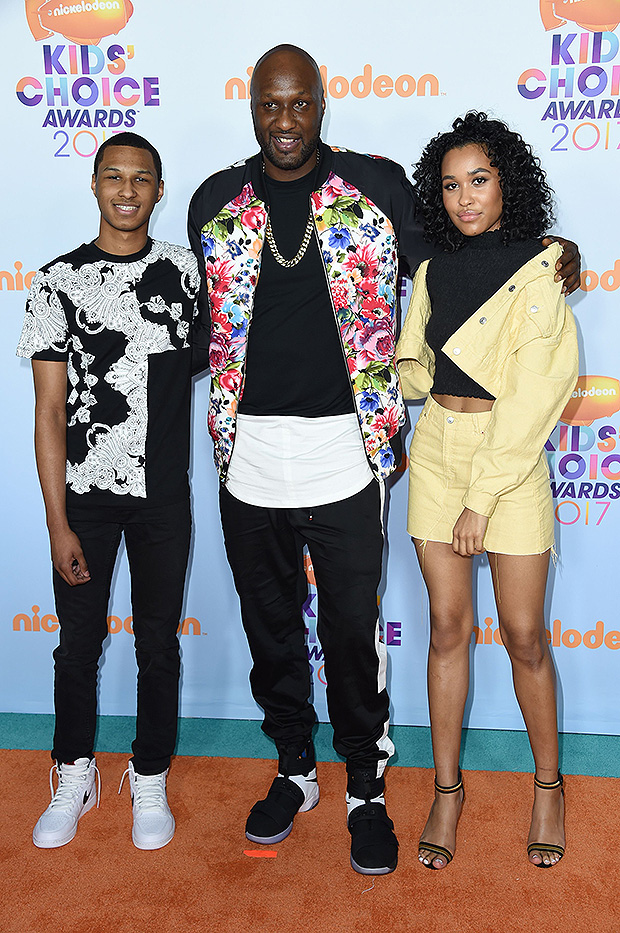 Lamar Odom's Kids
