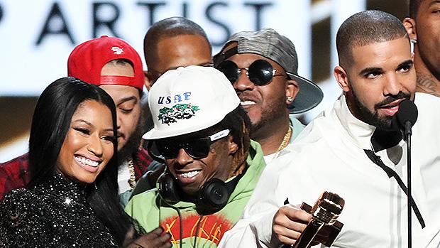 Nicki Minaj Reunites With Drake & Lil' Wayne For 'Seeing Green' On New Mixtape 'Beam Me Up Scotty'.jpg