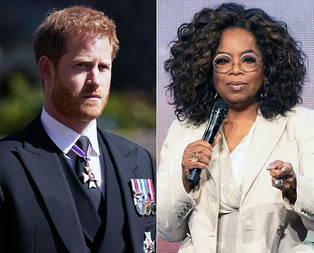 Prince Harry Oprah Winfrey