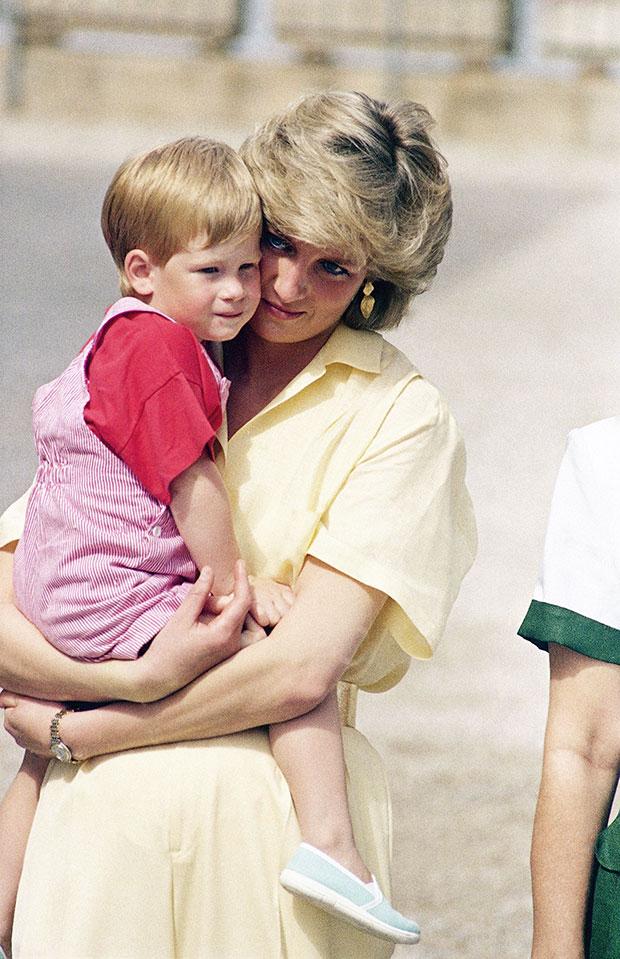 Prince Harry & Princess Diana