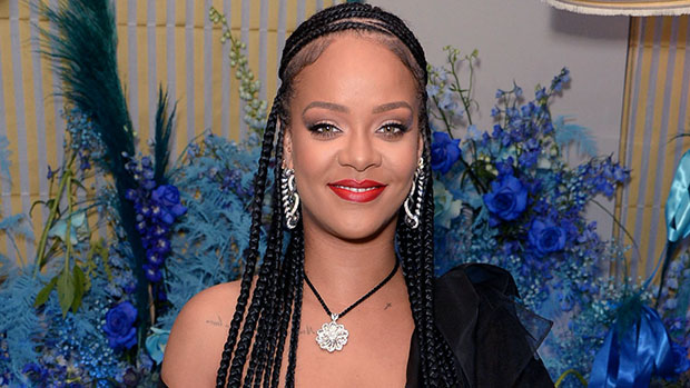 Rihanna Stuns In Nearly Sheer Knitted Mini Dress While Doused In Body Oil — Sexy New Pics