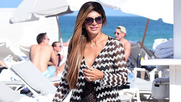 Teresa Giudice, 48, Rocks Sexy Pink Swimsuit By The Pool: 'Missing The Sun'.jpg