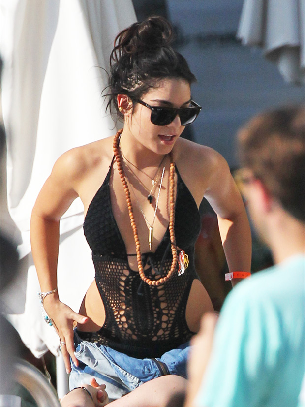 Vanessa Hudgens cut-out swimsuit