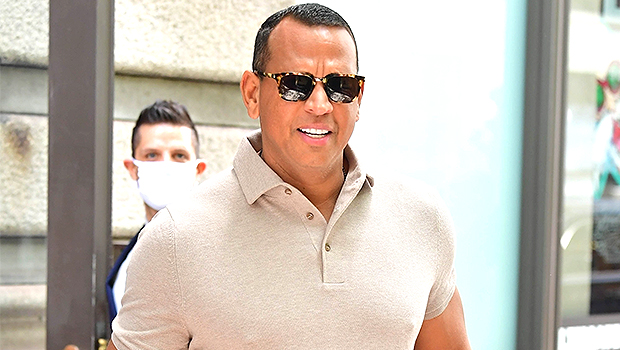 A-Rod Reveals His Arm Muscles In Tight Shirt As He Leaves Katie Holmes Apartment Building.jpg