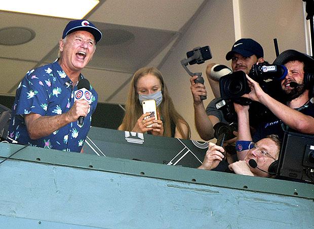 Bill Murray Sings Cubs Ball Game