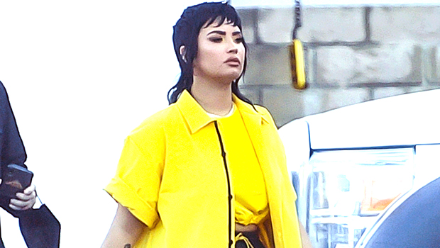 Demi Lovato Reveals A Joan Jett Level Mullet Hair Makeover For New Video: See Before & After Pics