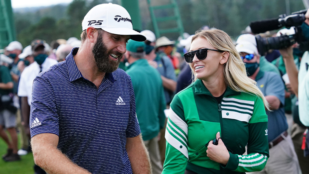 Paulina Gretzky Gives BF Dustin Johnson A Passionate Kiss For 37th Birthday While In A Bikini
