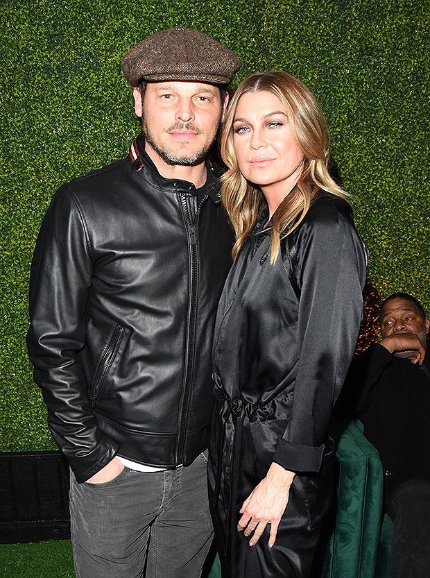 , Ellen Pompeo Reunites With Justin Chambers & 'Grey's Anatomy' Fans Hope He Returns Next Season,