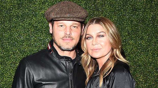 Ellen Pompeo Reunites With Justin Chambers & 'Grey's Anatomy' Fans Hope He Returns Next Season