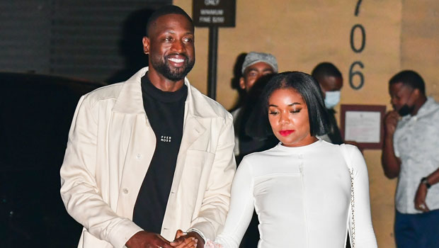 Gabrielle Union Is White Hot In Fitted Dress On Date With Husband Dwyane Wade At Nobu Malibu — Pics.jpg