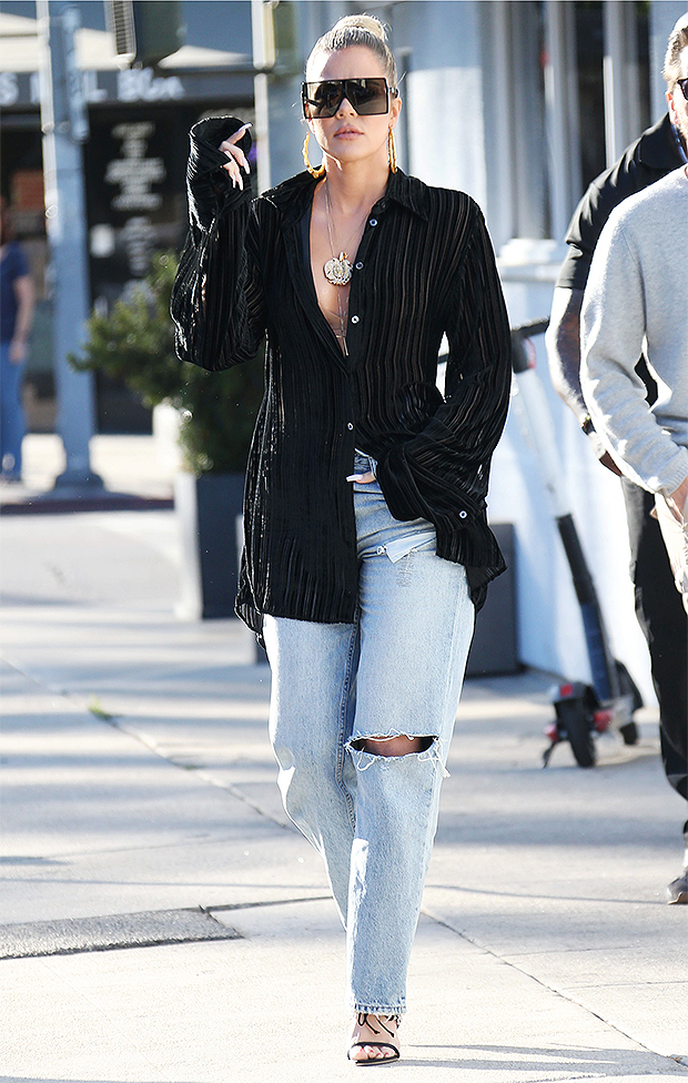 Khloe Kardashian Reacts Baby Voice Diss