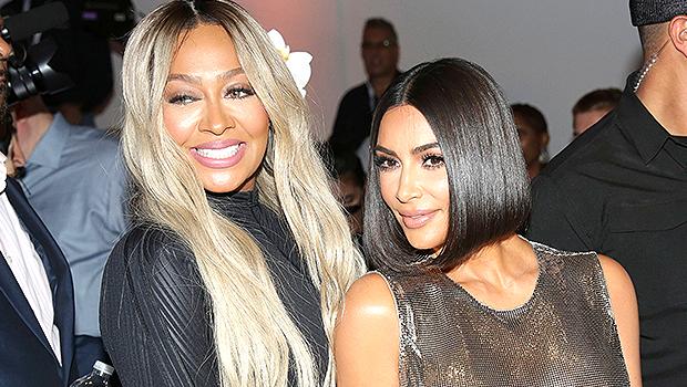 Kim Kardashian & La La Anthony: How The 'Confidants' Are Helping Each Other Through Their Divorces