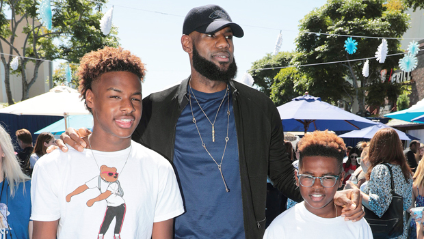 LeBron James' Son Bronny, 16, Follows In Dad's Footsteps On 'SI' Cover With FaZe Clan Members.jpg