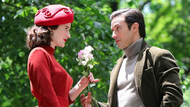 Milo Ventimiglia Seen In 1st Pics On 'The Marvelous Mrs. Maisel' Set With Co-Star Rachel Brosnahan.jpg
