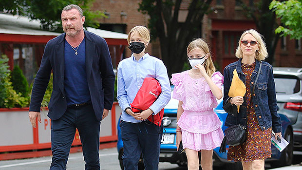 Noami Watts & Liev Schreiber Make Rare Joint Outing With Kids Sasha, 13, & Kai, 12, 5 Years After Split.jpg