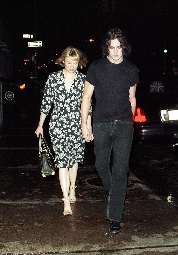 Renee Zellweger & Jack White