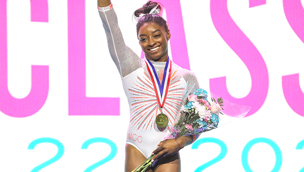 Simone Biles Stuns In A Hot Pink Bikini Amidst Olympic Training & Her BF Is Here For It