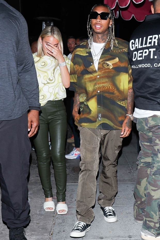 Tyga & GF Camaryn Swanson Spark Engagement Speculation As She's Spotted With Diamond Ring
