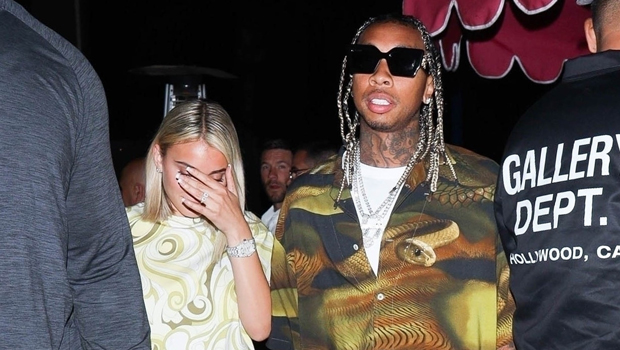 Tyga & GF Camaryn Swanson Spark Engagement Speculation As She's Spotted With Diamond Ring.jpg