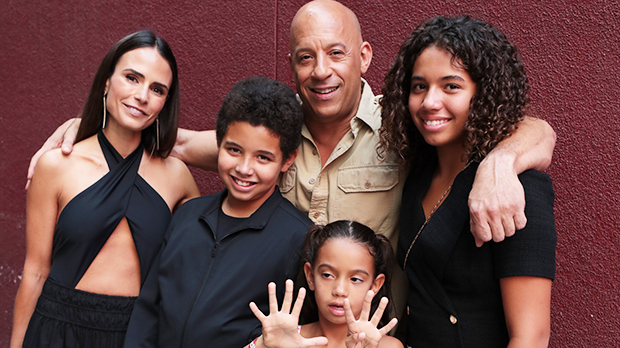 Vin Diesel Brings 3 Kids With Him To Surprise 'Fast & Furious' Fans in Rare Outing Together: See Pics