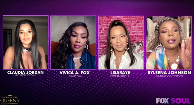 Claudia Jordan, Vivica Fox, LisaRaye McCoy, Syleena Johnson
