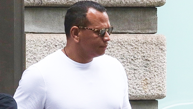 A-Rod Leaves Katie Holmes' Apartment Building After Ex J.Lo's Reunion With Ben Affleck