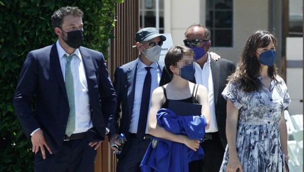 Ben Affleck & Ex Jennifer Garner Reunite For Daughter's Graduation After Steamy J.Lo Date.jpg