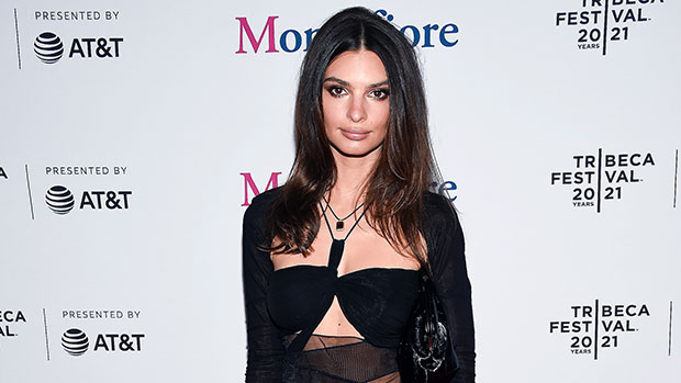Emily Ratajkowski Stuns In Black Mini With Sheer Details At Tribeca Film Fest 3 Months After Giving Birth
