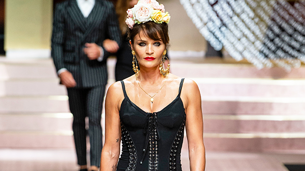 Helena Christensen Rocks Plunging Swimsuit To Recreate Her Iconic 1990 Chanel Shoot — Pic.jpg