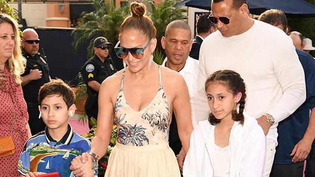 Jennifer Lopez Kids Pics