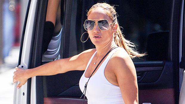 Jennifer Lopez Rocks A Crop Top For Shopping Date With Daughter As Ben Affleck Romance Heats Up